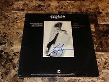 "Eric Johnson Rare Authentic Signed Promo 12"" Off My Mind Vinyl Record LP + Photo"