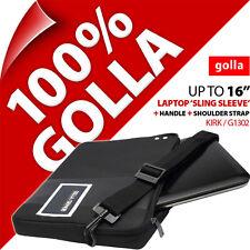 """Golla 16"""" pour 15.6"""" 15.4"""" Housse Ordinateur Portable Sac étui mallette étui"""