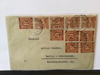 Dresden 1948 to Berlin multi stamps cover  Ref R28138
