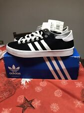 ADIDAS ORIGINALS COURT VANTAGE black shoes scarpe UNISEX NERE NUM.43 1/3 UK 9