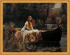 The Lady of Shalott John William Waterhouse Tennyson poema Boot B a2 02693