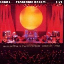 TANGERINE DREAM - LOGOS LIVE (REMASTERED) CD 3 TRACKS INTERNATIONAL POP NEW+