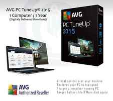 AVG PC TuneUp® 2016  | 1 Computer / 1 Year License | License Key Only