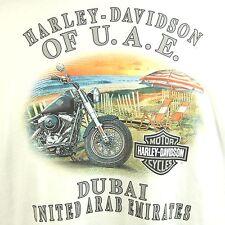 Harley Davidson 3XL UAE Dubai Dealer Long Sleeve T Shirt NEW with Tags FLAW