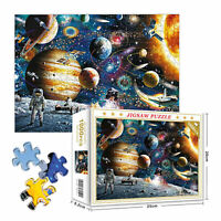 1000 Pieces Jigsaw Puzzles Education Learning Game Puzzle Adult - Space Planets