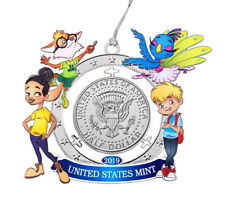Kennedy Clad Half Dollar U.S. Mint Ornament Coin Mighty Minters GEM BU SKU58858