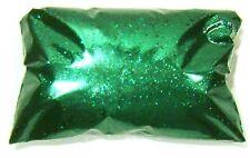 "6oz / 177ml Rich Emerald Green .015"" Metal Flake Auto Paint Additive LF116"