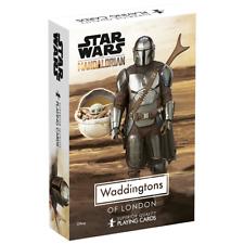 Waddingtons Star Wars The Mandalorian Playing Cards