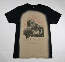 Listen To Black Metal T Shirt size S Cotton Insight Nuns