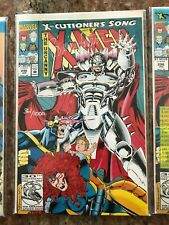 X-CUTIONERS SONG 1 FULL SET XMEN 14-16 294-296 XForce 84-86 MINT BAGGED SIGNED
