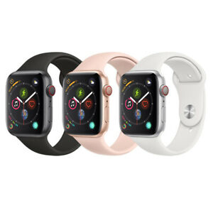 Apple Watch Series 4 40MM 44MM Cellular - Aluminum | Good Glass, LCD, Powers Up