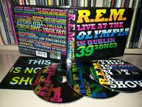 2 CD + DVD R.E.M. - LIVE AT THE OLYMPIA - IN DUBLIN 39 SONGS
