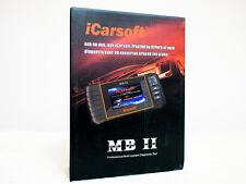 MERCEDES BENZ Read/Reset ABS SRS Service/Oil/break Light iCarsoft MBII 980 MB II