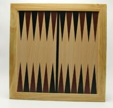 Chess Checkers Backgammon 3 in 1 Replacement Wood Game Board