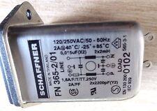 Schaffner fn-365-2/01 2A Filtro de entrada de red IEC fundido