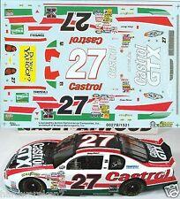 NASCAR DECAL #27 CASTROL GTX 2000 BGN MONTE CARLO CASEY ATWOOD SLIXX