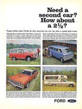 1968 FORD RANCHERO 428 COBRA JET RAM AIR V-8 / BRONCO  ~  NICE ORIGINAL PRINTAD