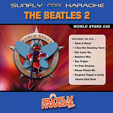 THE BEATLES VOL 2 SUNFLY KARAOKE CD+G
