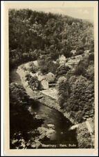 TRESEBURG Sachsen-Anhalt Harz DDR alte Postkarte 1953