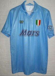 Maradona , Napoli  trikot Retro Uefa Cup sieger