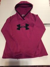 Under Armour Size XS Hoodie Women's Pink EUC