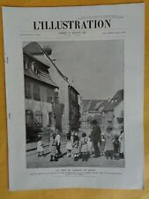 """ L'Illustration "" n°4299 de 1925 :Dessinateur Hansi-Chine manifestation-Le Siam"