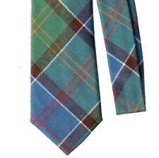 Tartan Tie Ayrshire District Ancient Scottish Wool Plaid