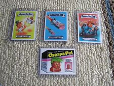 Topps Garbage Pail Kids Disgrace to White House Sticker Card Lot of 4: 117-120