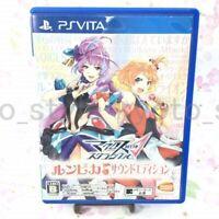 USED PS Vita Macross Delta scramble Runpika sound edition PSV 08137 JAPAN IMPORT