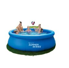 """Summer Waves 10' x 30"""" Quick Set Swimming Pool With Filter Pump! *Ships Next Day"""
