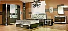 Luxurious Gucci Style Italian 6 Items Bedroom Set double or king size bed frame