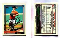 Gregg Olson Signed 1992 Topps #350 Card Baltimore Orioles Auto Autograph