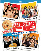 American Pie Unrated 4-Movie Collection (Blu-ray Used Very Good)