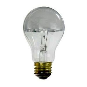 SUNLITE 100W 120V 3200K Silver Bowl E26 Incandescent Light Bulb