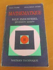 Mathématique BEP industriel première année Paul Faure AstierEnsemble fonction
