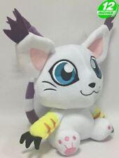 "Digimon Gatomon Tailmon Plush Stuffed Animal Toy 12"" US Seller"