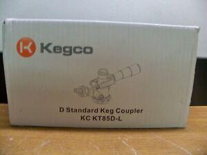 NEW KEGCO KC KT85D-L D STANDARD BEER KEG COUPLER  FREE PRIORITY S&H
