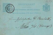 Briefkaart de 1894 Nijmegen tras Nebra Turingia