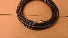 TIMES  MICROWAVE  SMA plug to TNC  plug coax Cable LMR-240  75 FT(male to male )