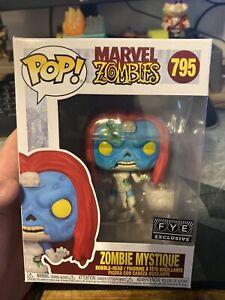 Funko Pop! Marvel Zombie Mystique #795 FYE Exclusive In Hand