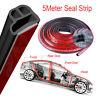 5Meter L Shape Seal Strip Car Door Hood Trunk Trim Rubber Moulding Edge Strip