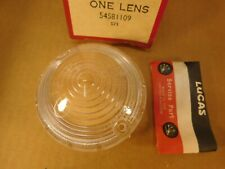 LUCAS 54581109 L691 Clear Park Turn Lens Austin Healey Land Rover Morgan  NOS
