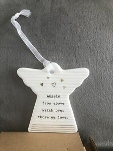 Angels From Above Watch Over Those We Love . Thoughtful words Great Gift