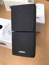 1x Bose Acoustimass 10,15/Lifestyle 28,38,V25,525,Double Cube Speaker BLACK