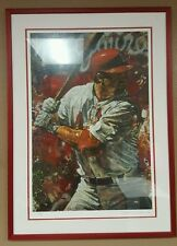 "Stephen Holland ""Mark McGwire"" LIMITED ISSUE PRINT 4 of 250 SIGNED & FRAMED"