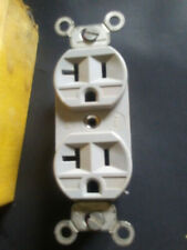 6 new hubbell commercial grade corrosive resistant 20 amp receptacle #53cm62