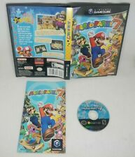 Mario Party 7 (Nintendo GameCube, 2005) Complete Tested & Working Fast Shipping
