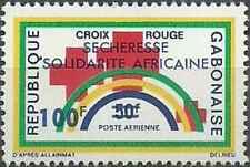 Timbre Santé Médecine Croix Rouge Gabon PA143 * lot 27266