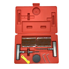 37 Pieces Tire Repair Tool Kit W/Case Plug Patch New