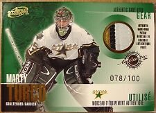 MARTY TURCO GAME WORN JERSEY PATCH McDONALD'S GOLD CARD - RARE - MINT